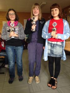 Die Siegerinnen der Einzelwertung